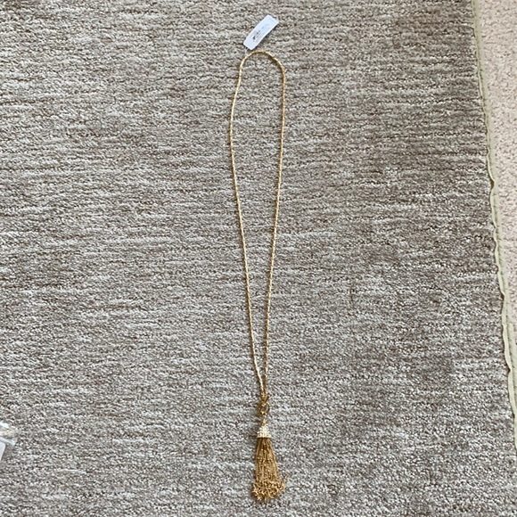 Lilly Pulitzer Long tassel necklace never worn